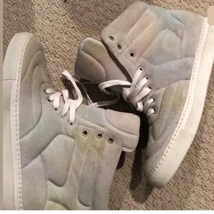 Mm6 hightop suede sneakers size 40